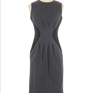 NWOT Calvin Klein Black Grey Sheath Dress 2